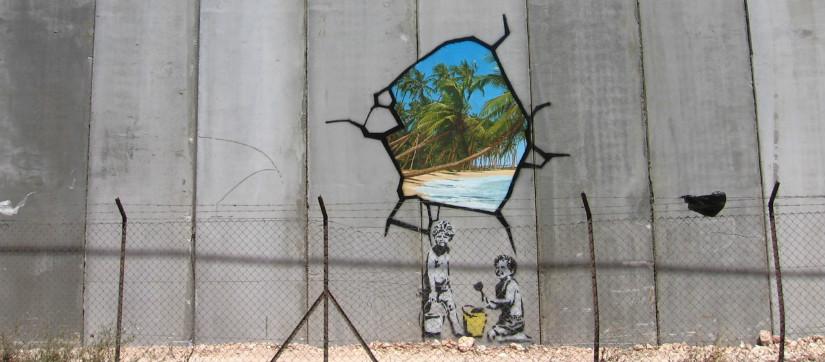 banksy-wall-mural-palestine